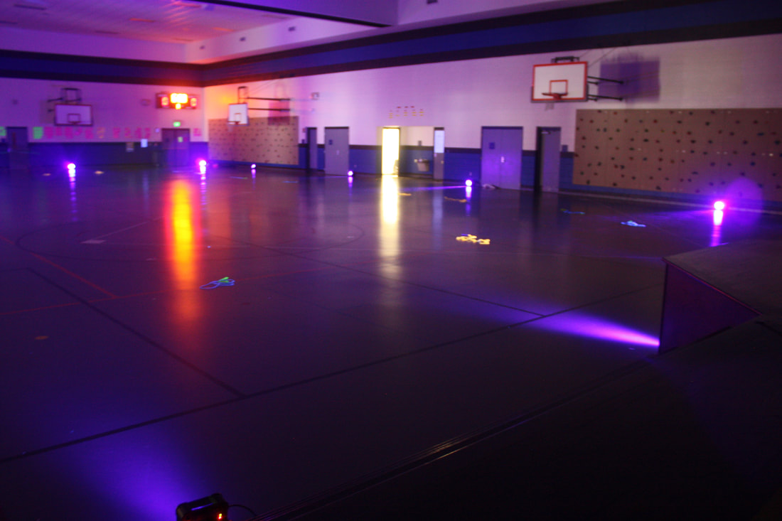 Fine era productions event blog fine era productions rope for heart event our fixtures did a great job filling the large gym with black light the kids were in and out all day and it was a great event aloadofball Choice Image